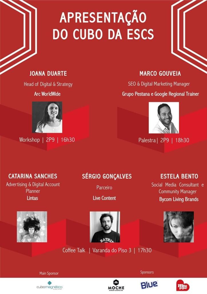 Cartaz Evento GAME – Grupo de Alunos de Marketing da ESCS