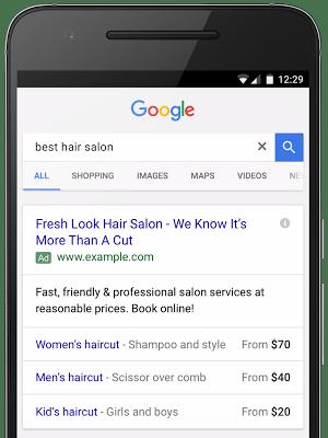 Extensão de Preço - Exemplo