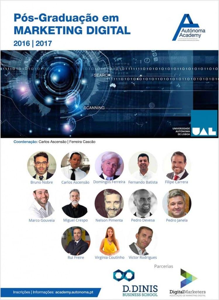 Docentes Pós Graduação Marketing Digital UAL