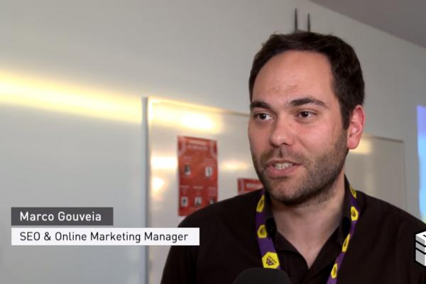 Marco Gouveia no Evento - GAME – Grupo de Alunos de Marketing da ESCS