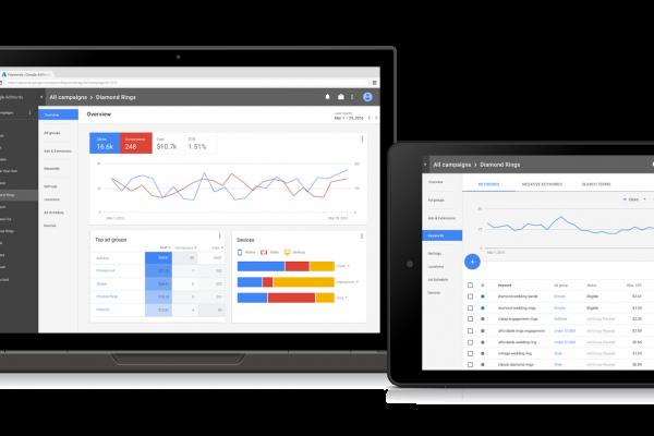 Novo Design Google Adwords 2017
