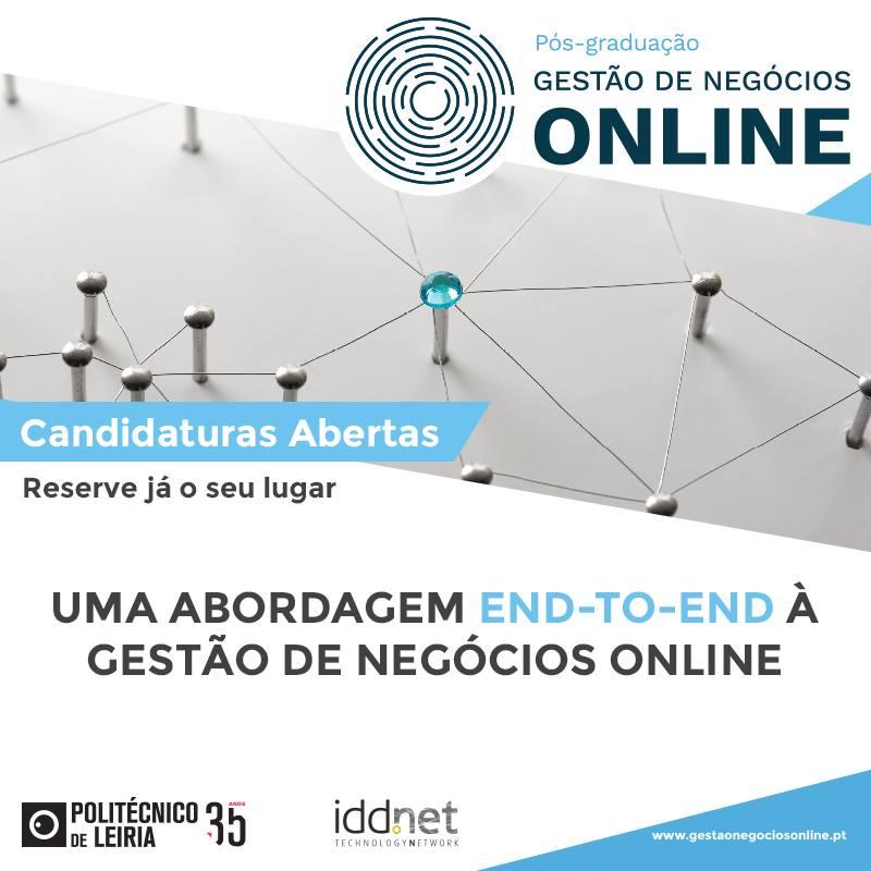 Pós-Graduação em Gestão de Negócios Online no Instituto Politécnico de Leiria