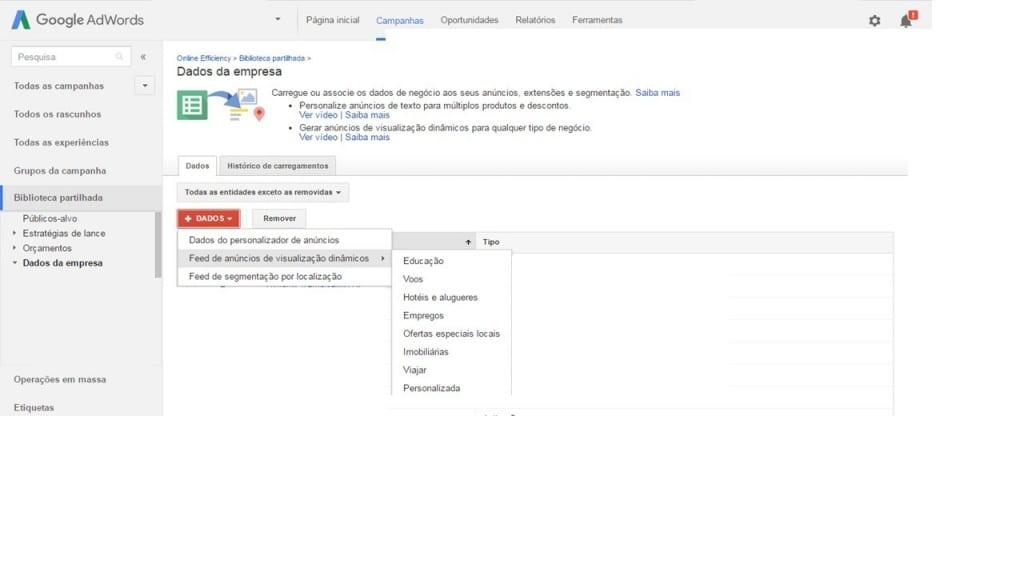 Como Fazer Remarketing Dinâmico Com Google AdWords