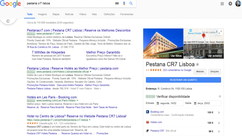 Google Hotel Ads Local Universal