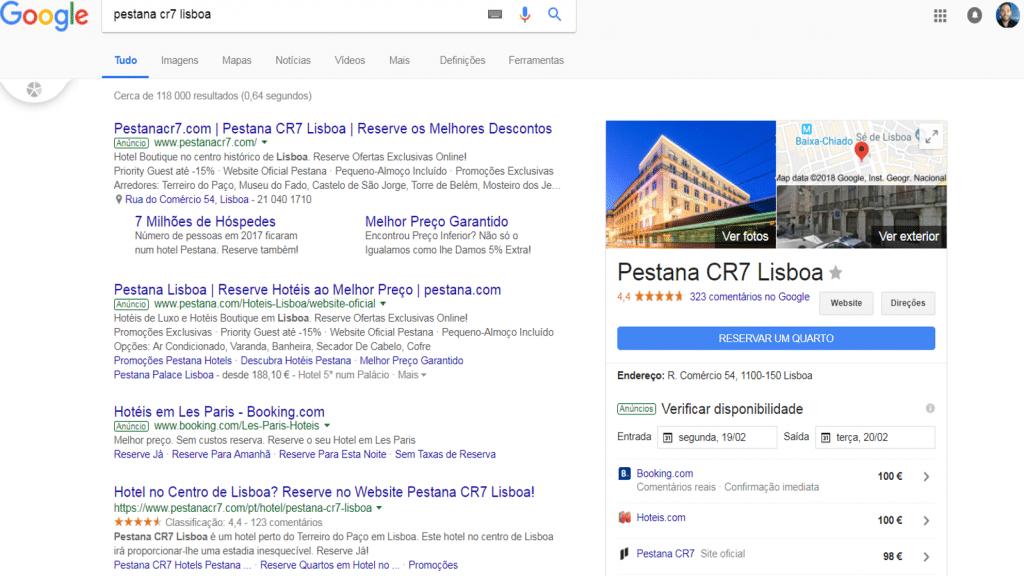 Google Hotel Ads Local Universal