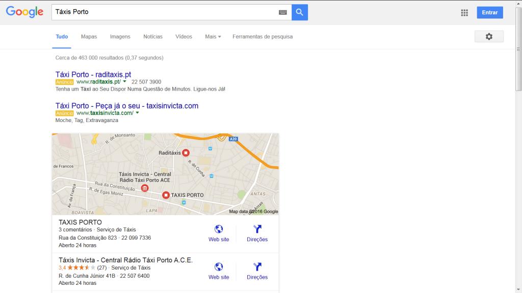 Label Amarela Google AdWords