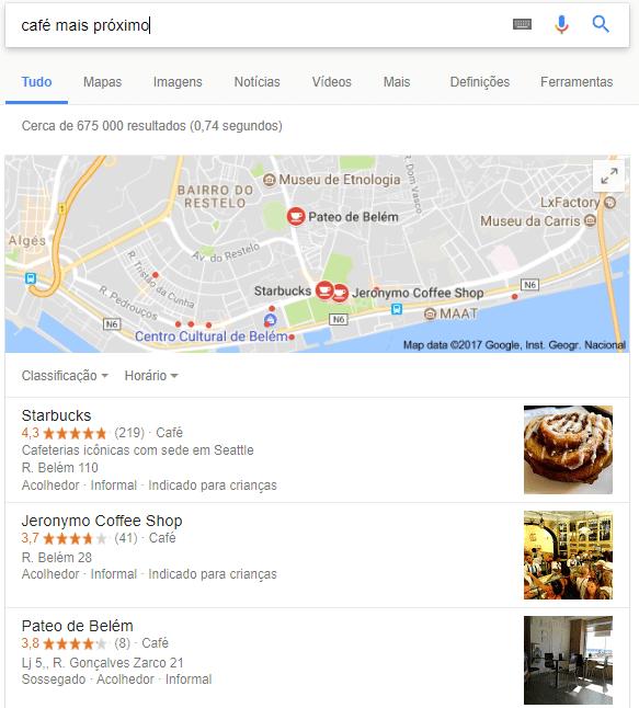 Local SEO - Café Lisboa