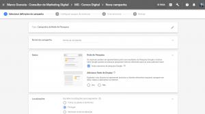 Orçamento Google Ads